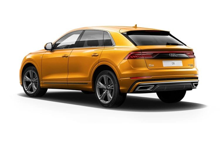 Audi Q8 5 Door Suv 55 Tfsi Quattro 340ps Black Edition Tiptronic Petrol