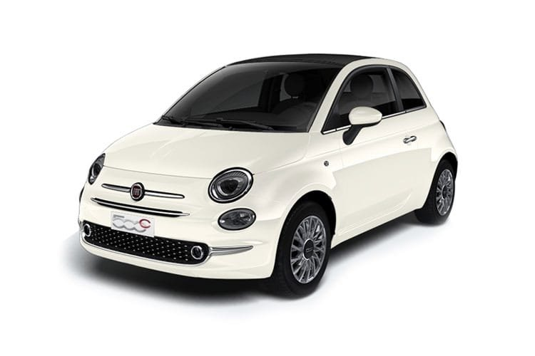 Fiat 500 2 Door Convertible 42kwh 87kw Icon Electric