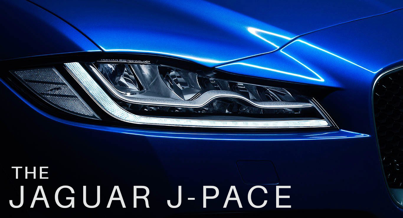 The New Jaguar J-Pace - COMING SOON