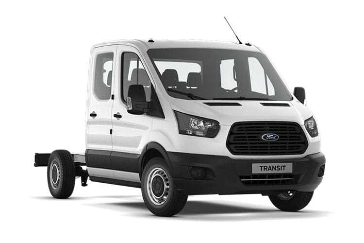 Ford Transit Chassis Double Cab