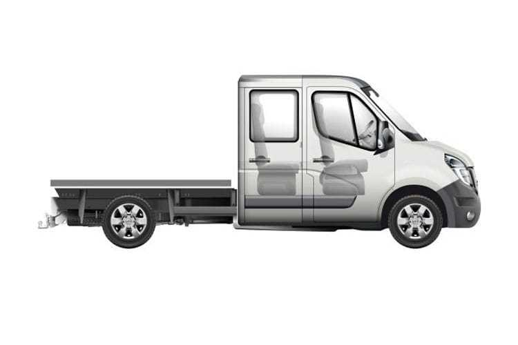 Nv400 Chassis Double Cab