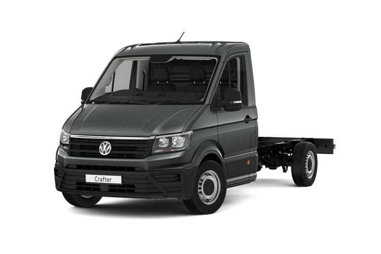 Crafter Chassis Double Cab