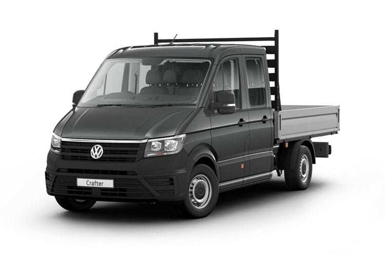 Crafter Chassis Double Cab Dropside