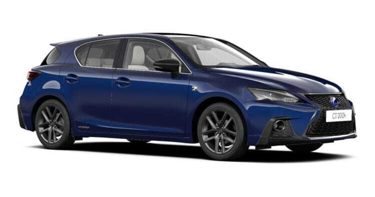 lexus ct 200h 5 door f sport premier pack sunroof e cvt 1 8 hybrid petrol vantage leasing. Black Bedroom Furniture Sets. Home Design Ideas