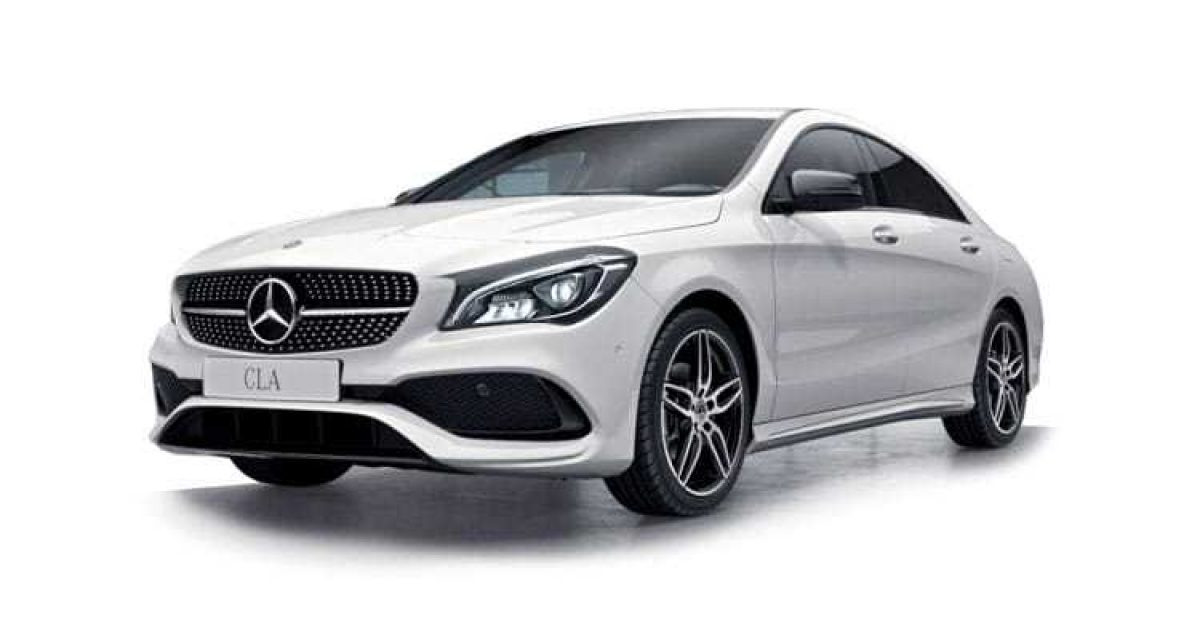 mercedes cla 180 coupe amg line map pilot 1 6 petrol. Black Bedroom Furniture Sets. Home Design Ideas
