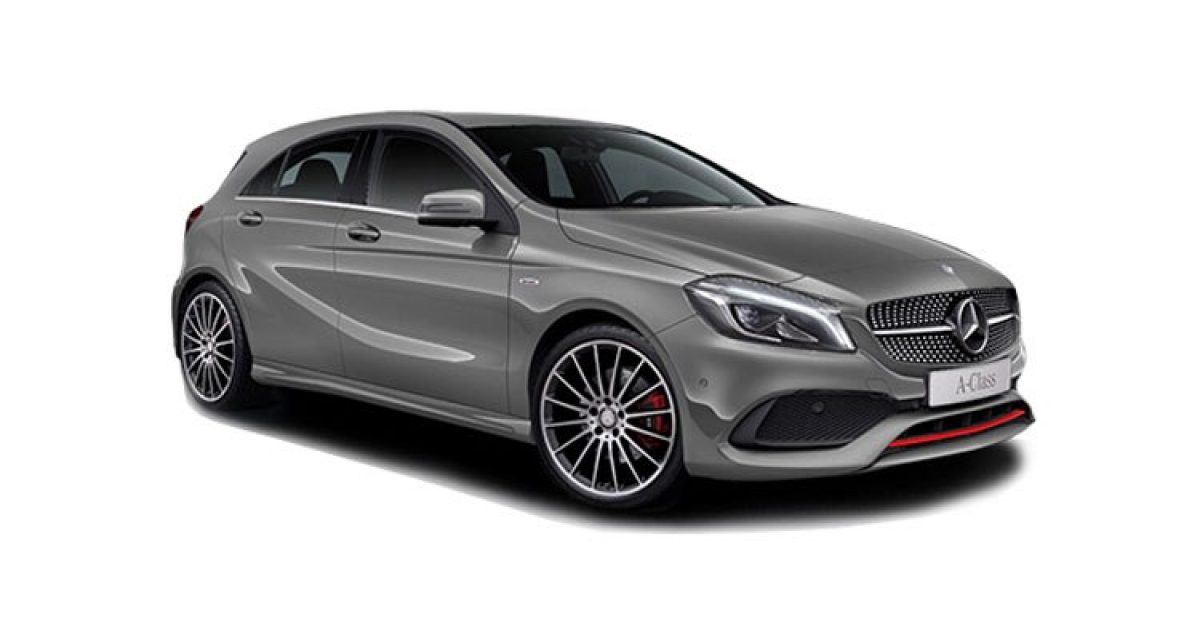 Monthly Rental Car >> Mercedes A180 5 Door Hatch Sport Edition Plus 1.6 Petrol ...