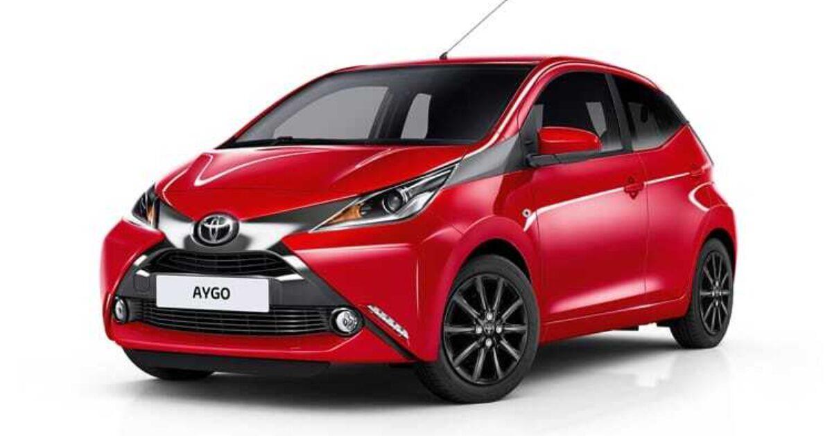 Lease Car Toyota Aygo