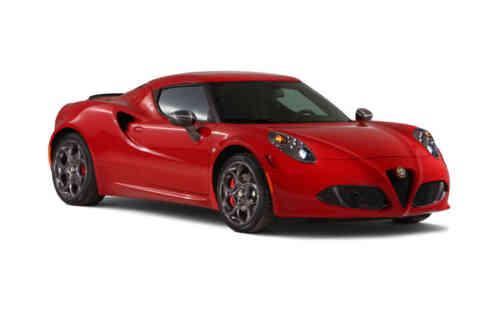Alfa Romeo 4c 2 Door Coupe  Tbi Alfa Tct 1.8 Petrol