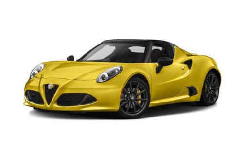Alfa Romeo 4c Spider 2 Door 5 Tbi Alfa Tct 1.7 Petrol