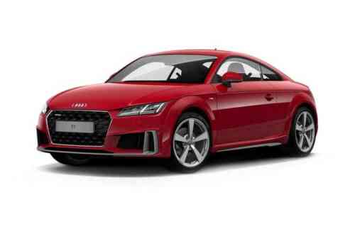 Audi Tt Coupe 40 Tfsi 197ps Black Edition S Tronic  Petrol
