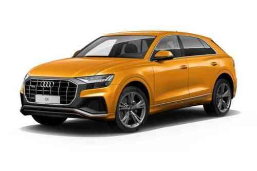 Audi Q8 5 Door Suv 55 Tfsi Quattro Mhev S Line Leather Tiptronic  Petrol