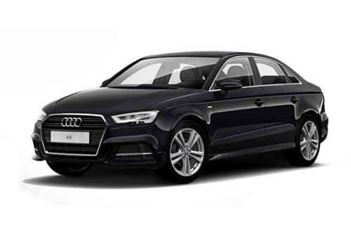 Audi A3 4 Door Saloon 30 Tfsi 116ps Black Edition  Petrol