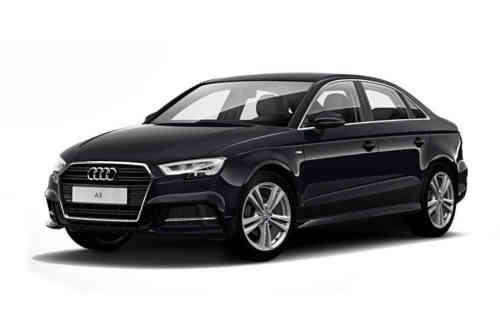 Audi A3 4 Door Saloon 30 Tfsi 116ps Black Edition Tech Pack  Petrol