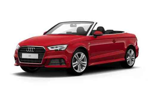 Audi A3 2 Door Cabriolet 35 Tfsi 150 S Line Tech Pack S Tronic  Petrol