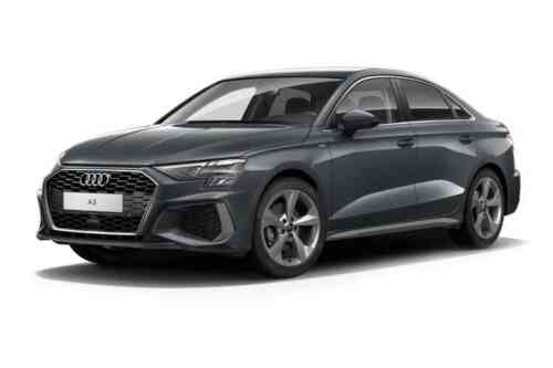 Audi A3 4 Door Saloon 30 Tfsi 110 S Line Comfort+sound Pack S Tronic  Petrol
