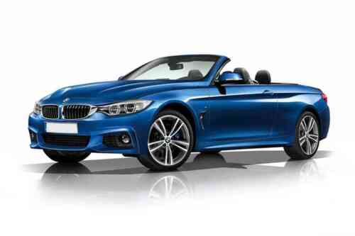 Bmw 420i Convertible 2 Door  Sport Professional Media 2.0 Petrol