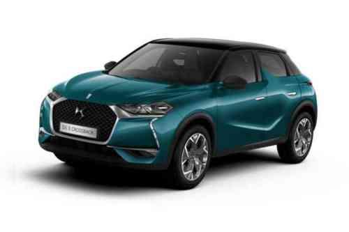 Ds Automobiles 3 Cross Back  Puretech Performance Line Eat8 1.2 Petrol