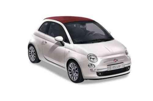 Fiat 500 2 Door Convertible  Collezione Dualogic 1.2 Petrol