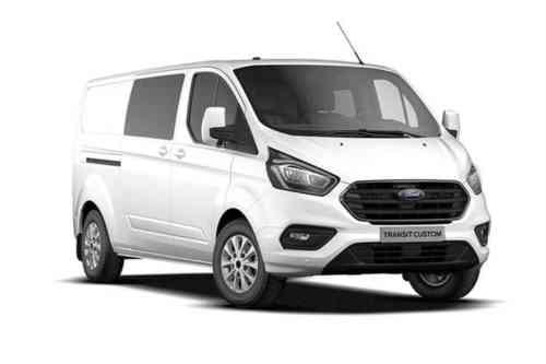 Ford Transit Custom 280l1 Double Cab In Van Tdci Trend 2.0 Diesel