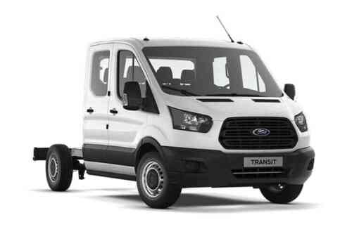 Ford Transit 350 L3 Chassis Double Cab Tdci Rwd 2.0 Diesel