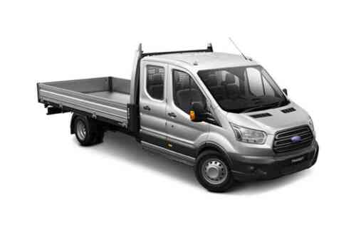 Ford Transit 350 L4 Chassis Double Cab Premium Dropside Tdci Rwd 2.0 Diesel