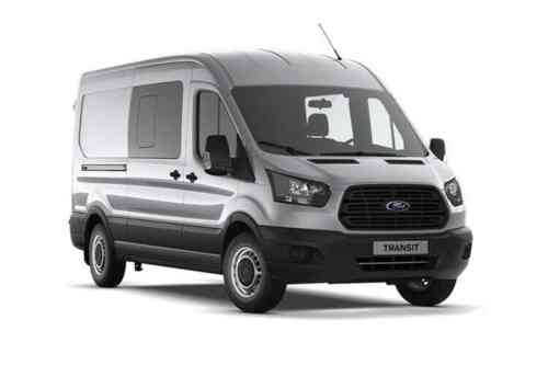 Ford Transit 350 L2h2 Double Cab In Van Tdci Trend Fwd 2.0 Diesel