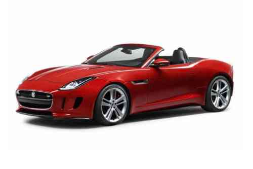Jaguar F-type Convertible  V6 Supercharged Chequered Flag Auto 3.0 Petrol