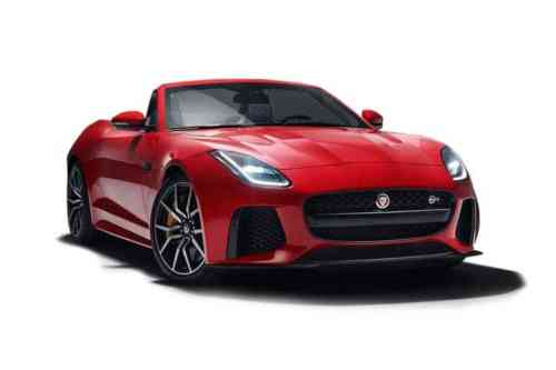 Jaguar F-type Convertible  V8 Supercharged R-dynamic Auto 5.0 Petrol