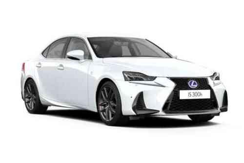Lexus Is 300h Saloon  Sport Pack Sunroof 2.5 Hybrid Petrol