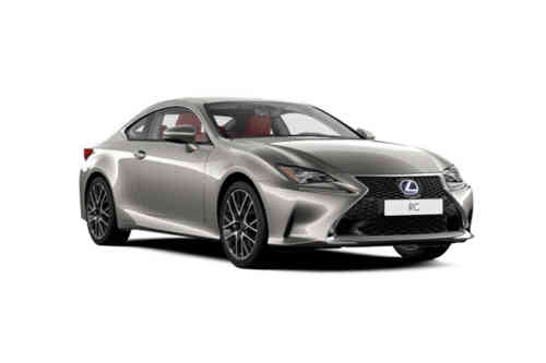 Lexus Rc 300h Coupe  Rc Leather Sunroof Cvt 2.5 Hybrid Petrol
