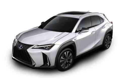 Lexus Ux 250h  F Sport Without Nav Cvt 2.0 Hybrid Petrol