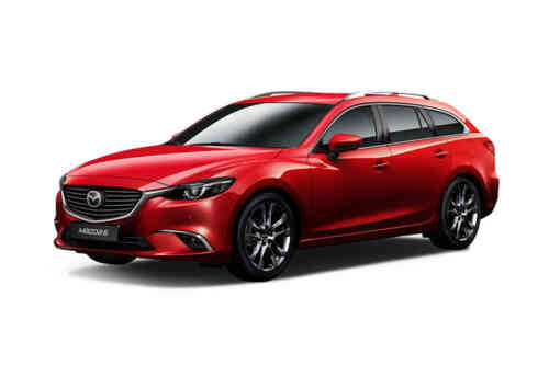 Mazda 6 5 Door Tourer D Se-l Nav Auto 2.2 Diesel