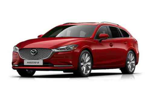 Mazda 6 5 Door Tourer D Sav-d Se-l Nav+ 2.2 Diesel