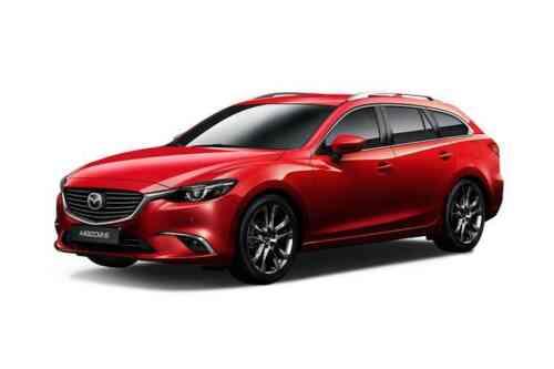 Mazda 6 5 Door Tourer D Sav-d Se-l Nav+ Auto 2.2 Diesel