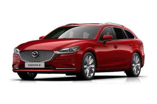 Mazda 6 5 Door Tourer D Sav-d Gt Sport Nav+ Auto 2.2 Diesel