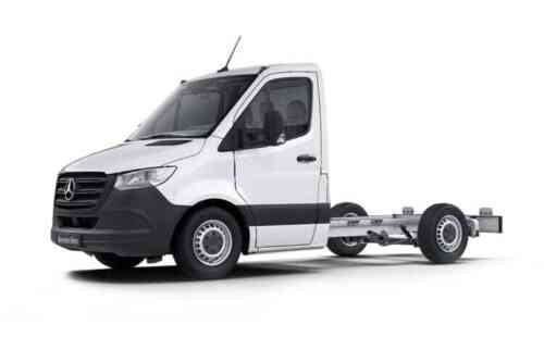 Mercedes 211cdi Sprinter Chassis Cab T L1 Fwd 3.0 Diesel