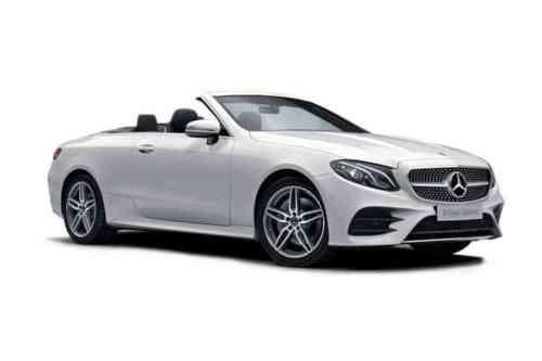 Mercedes E220d Cabriolet  Amg Line Premium Plus Auto 4matic 2.0 Diesel