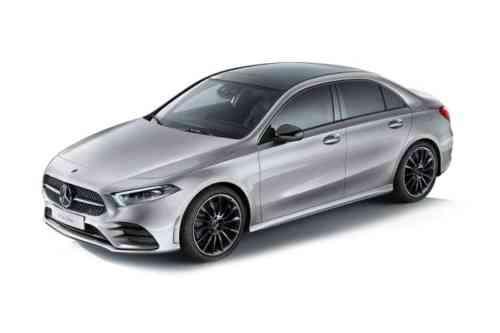 Mercedes A180 4 Door Saloon  Amg Line Executive 1.3 Petrol