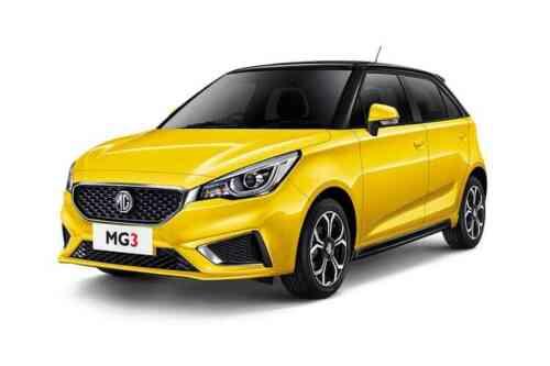 Mg Motor Uk Mg3 5 Door Hatch  Dohc Vti-tech Exclusive 1.5 Petrol