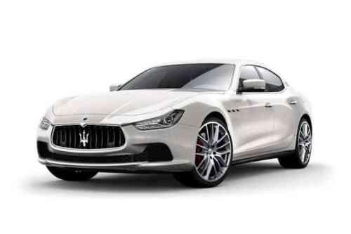 Maserati Ghibli S 4 Door Saloon  V6 Luxury Auto 3.0 Petrol