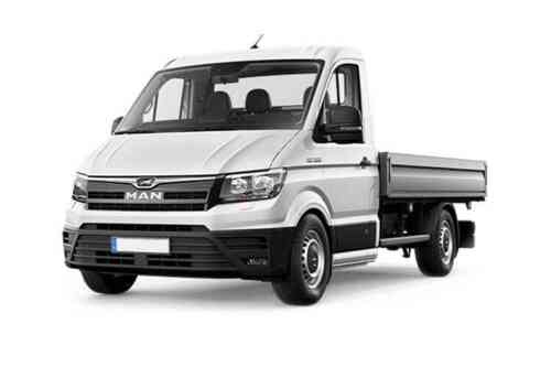 Man Truck And Bus Uk Tge Chassis Cab 3  Turbo Long 4x2f 2.0 Diesel