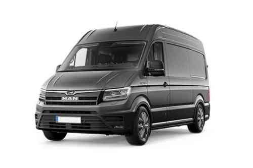 Man Truck And Bus Uk Tge Van 2  Bi-turbo 4x2f High Roof 2.0 Diesel