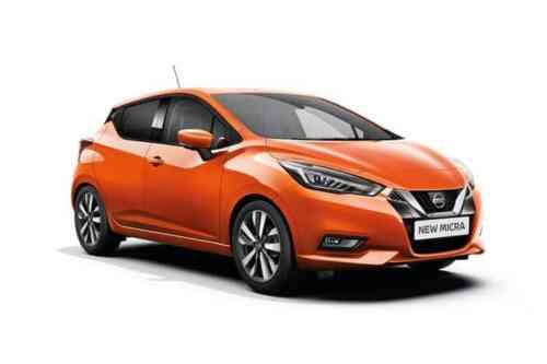 Nissan Micra 5 Door  Ig-t Visia+ 0.9 Petrol