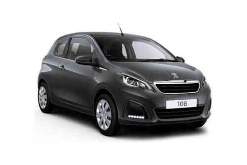 Peugeot 108 3 Door Hatch  Access 1.0 Petrol
