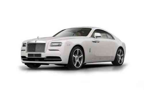 Rolls-royce Wraith 2 Door Coupe  Black Badge Auto 6.6 Petrol