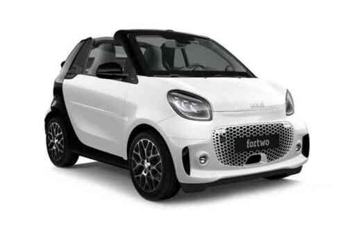 Smart Fortwo 2 Door Cabriolet Eq 22kw Prime Premium Auto  Electric