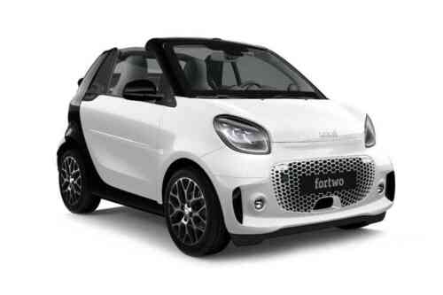 Smart Fortwo 2 Door Cabriolet Eq 22kw Prime Premium Plus Auto  Electric