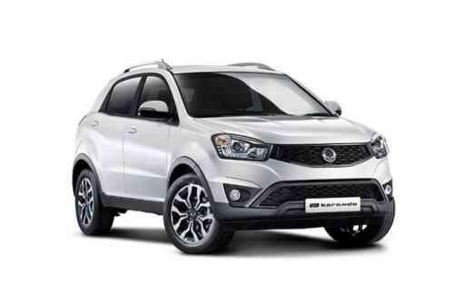 Ssangyong Korando 5 Door Estate  Elx 4x4 Auto 2.2 Diesel