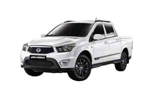 Ssangyong Musso Doulble Cab Pick Up  Rebel 2.2 Diesel
