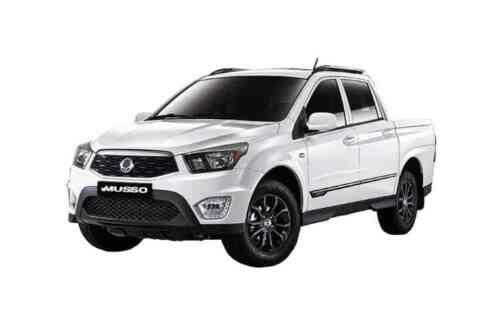 Ssangyong Musso Doulble Cab Pick Up  Saracen Auto 2.2 Diesel